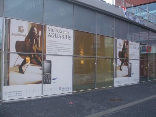 Outdoor 2 multibank witryna reklama zewnętrzna